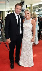 gemma flynn and richie mccaw | Richie McCaw and Gemma Flynn pose for a picture on the red carpet at ...