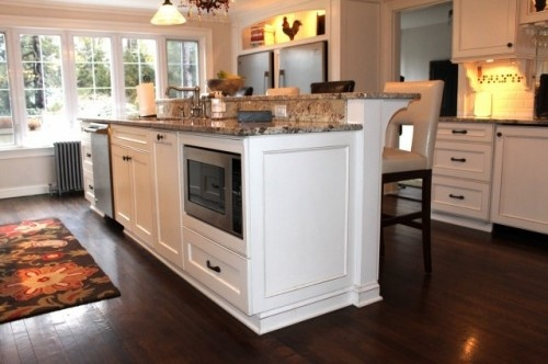 decorating kitchen cabinets traditional kitchen by amanda haytaian microwave in the 3114