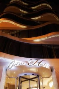 The new Opera Hotel in Istanbul.