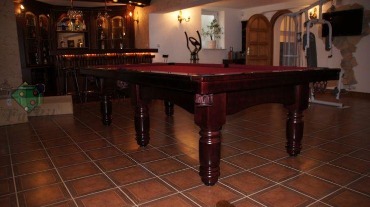 Zdjęcia stołu Planet 9ft, stół bilardowy z litego drewna