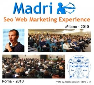 Seo Web Marketing Experience 2010