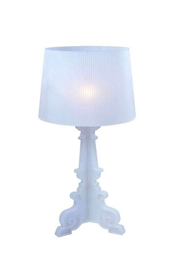 Baroque Style Acrylic Lamp - White  by Eclectic Furniture and Lighting on @HauteLook