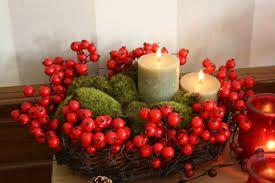 Resultado de imagen para arreglos navideños con velas