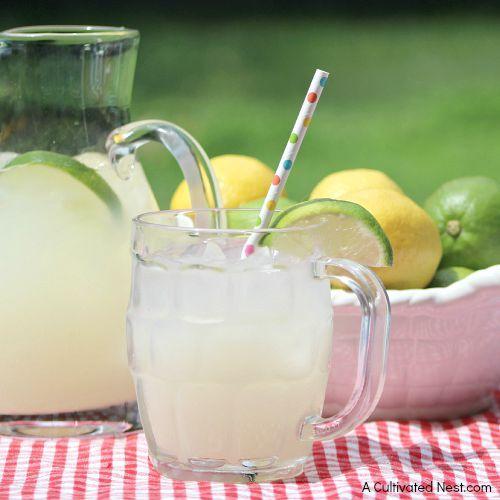 Delicious Brazilian lemonade recipe AKA Swiss lemonade
