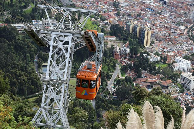 Teleferico a Monserrate - Bogota - Colombia by PPG_MD, via Flickr