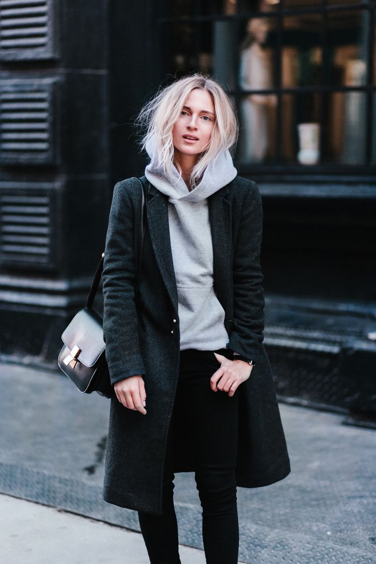 BABATON  stedman coat ISABEL MARANT  watch CÉLINE box bag(orhere) TNA  tasman hoodie WILFRED/CITIZENS OF HUMANITY   black skinny jeans _____ _____ _____ _____ photography byMATT SCORTE _____ _____