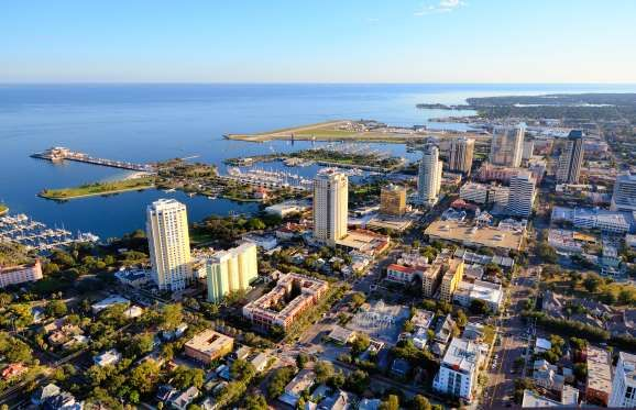 #StPetersburg, #Florida, is a #popular #springbreak destination, but the crowds of partying youngsters thin out in the hot summer months. Go in August and fill your days with afternoon naps on the white sandy beaches and visits to the city's impressive art galleries, including the Salvador Dalí Museum and the Morean Arts Center.