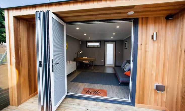 How much does a garden office with a shed cost? #GardenOffice #Shed