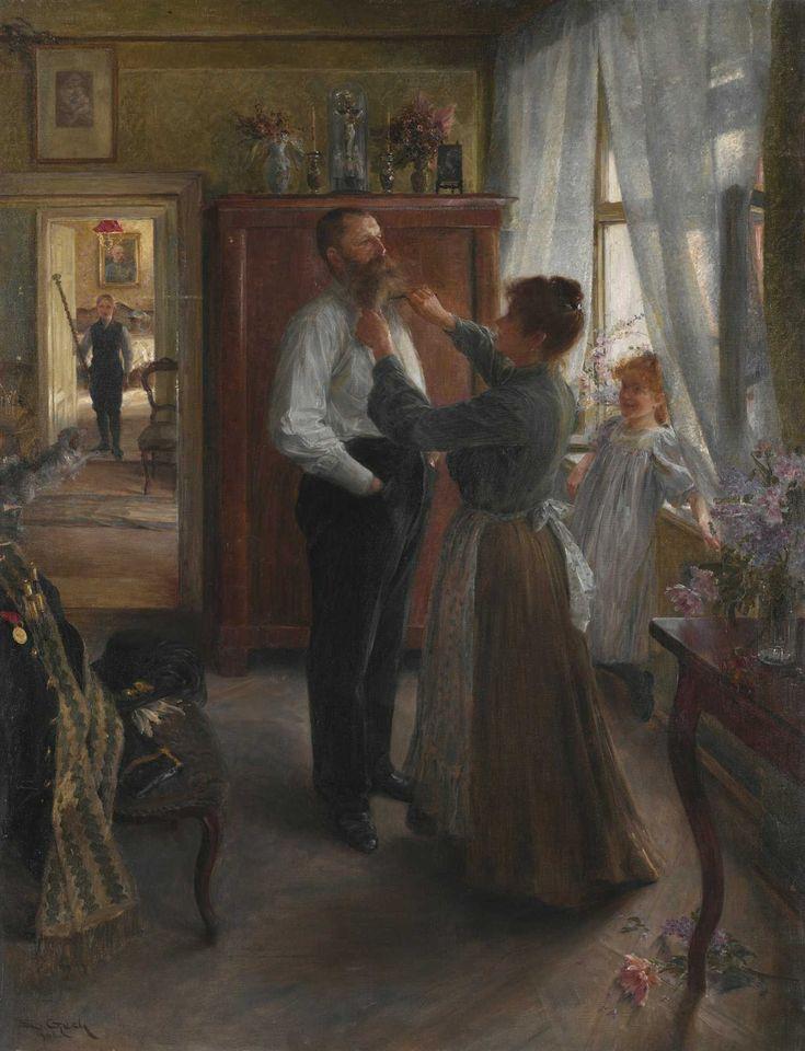 Emil Czech, Ranní toaleta, 1906