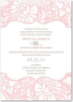 133 best Wedding Pink images on Pinterest Weddings, Birthdays and - best of is invitation to tender