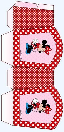 Minnie Mouse Small DIY Gift Box