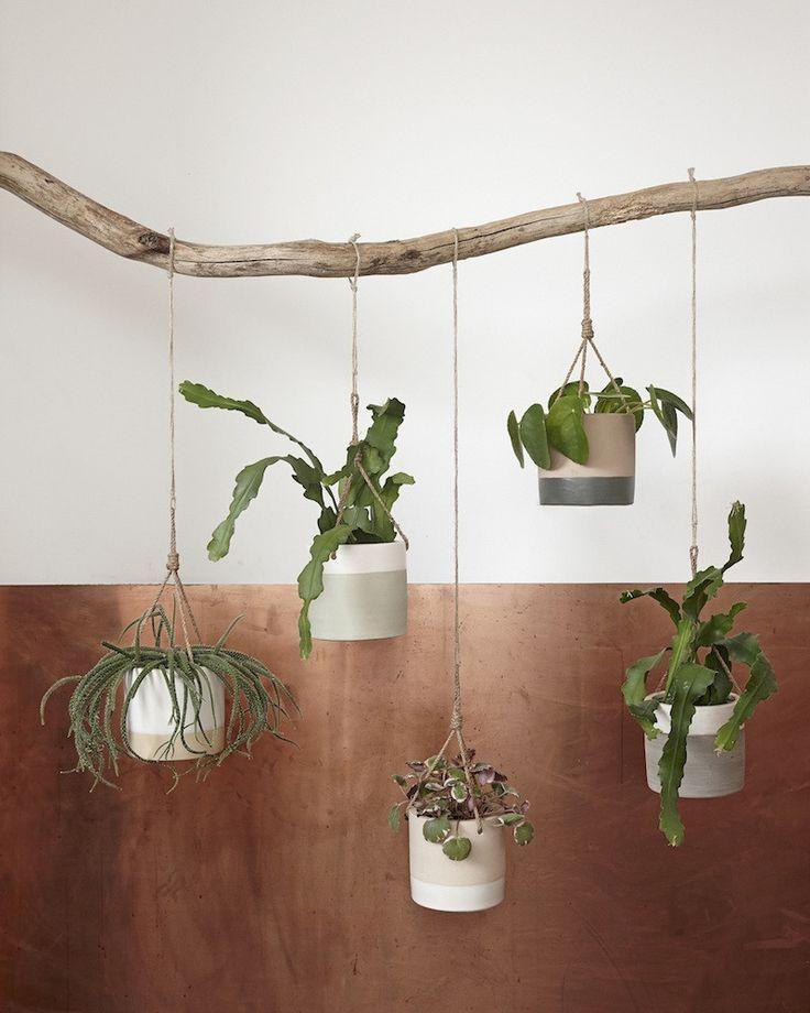 LO & BEHOLD - Danish design Hubsch hanging plant pot 13cm $13US (sale)