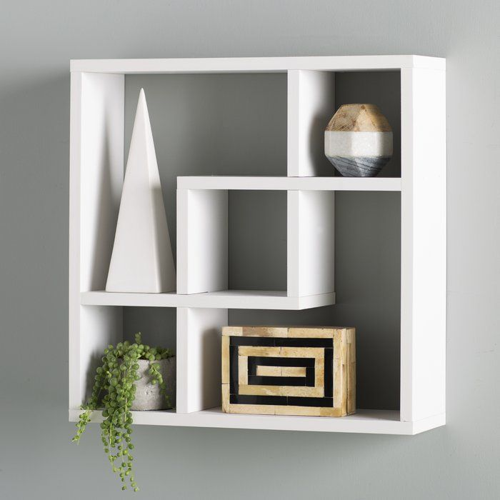 Geometric Wall Shelf With Images Wall Shelves Decor