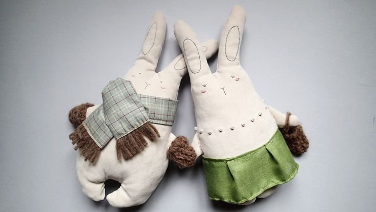 Federica and Giorgio from Milano!! Handmade cuddlers from Italy.