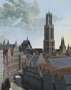 De Dom omstreeks 1440. 3D-animatie van Daan Claessen