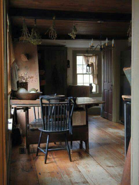 lovely primitive room