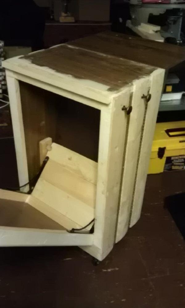 door stopper with additional knobs for pot holder or. Black Bedroom Furniture Sets. Home Design Ideas