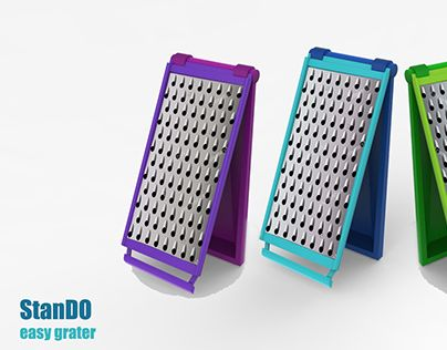 "Check out new work on my @Behance portfolio: ""Grater Design for Kitchen"" http://be.net/gallery/35089533/Grater-Design-for-Kitchen"