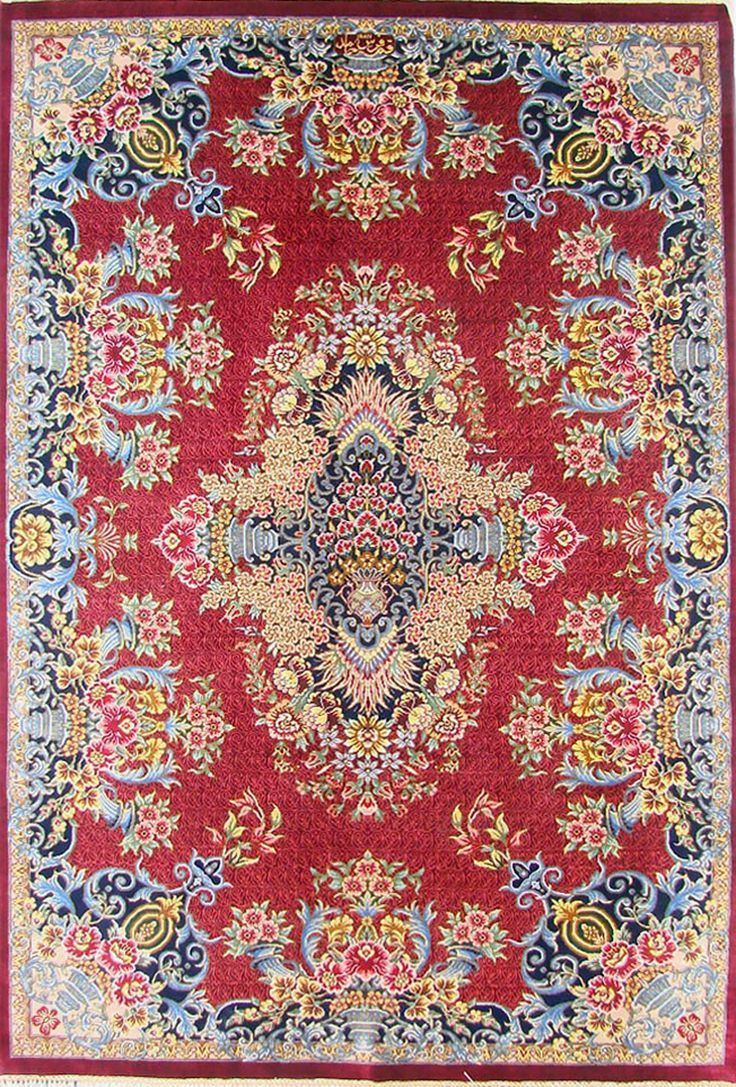 QUM Silk Persian Rug | Exclusive collection of rugs and tableau rugs - Treasure Gallery You pay: $3,500.00 Retail Price: $9,500.00 You Save: 63% ($6,000.00) Item#: CS-Q1 Category: Small(3x5-5x8) Persian Rugs Design:  Size: 100 x 150 (cm)      3' 3 x 4' 11 (ft) Origin: Persian Foundation: Silk Material: Silk Weave: 100% Hand Woven Age: Brand New KPSI: 700