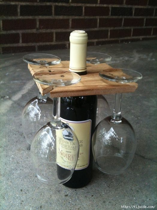 more fun than just bringing wine in a bottle! Might as well ask hubby to make several at once!