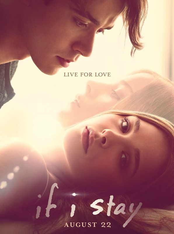 If I Stay movie    I AM GOING TO SEE THIS MOVIE!!!!!!