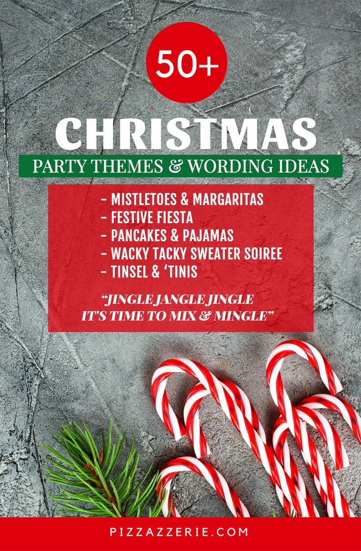 50  christmas party themes  u0026 clever invitation wording
