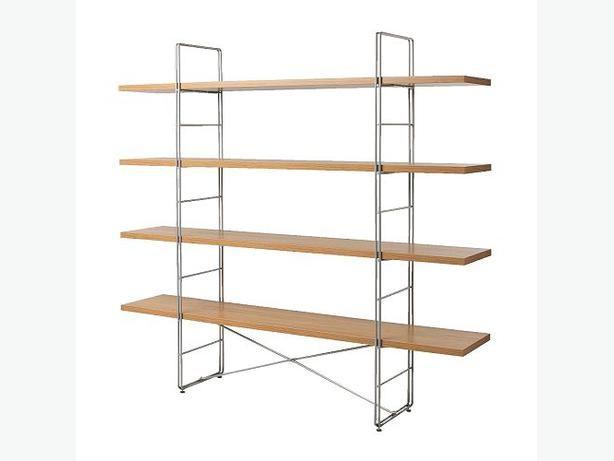 Ikea enetri bookcase 50 usedvic craigslist pinterest for Ikea free standing bookshelves