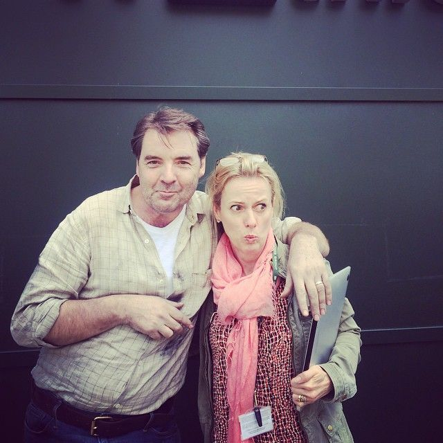 """June 4, 2015, Downton Abbey......""""One for the Downton Fans. That Brendan Coyle is a bit of a one..."""" .."""