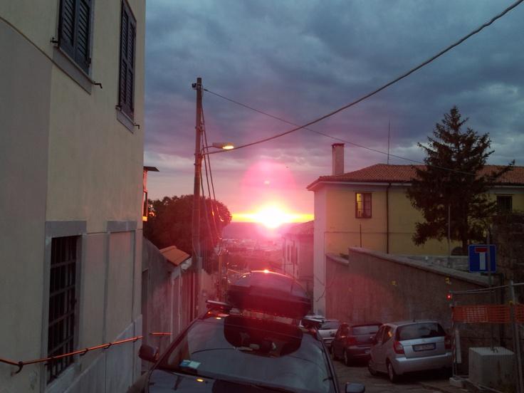 Via del Castello al tramonto :)