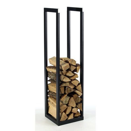 rangement pour bois en acier atelier dix neuf klub po le bois pinterest atelier. Black Bedroom Furniture Sets. Home Design Ideas