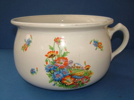 Victorian Staffordshire Chamber Pot   Potty   by BiminiCricket   45 00. 82 best Chamber Pots  Bourdaloues  Toilet   Spittoons images on