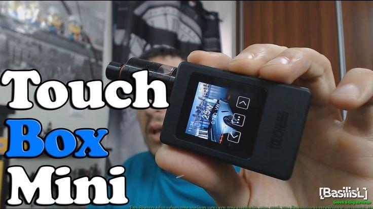 Touch box mini 60w - BasilisL (Greek ecig Reviews)