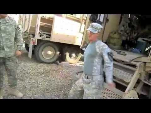 You couldn't ask to go to war with a better group of guys. Keep shufflin' 2nd Platoon!    (Video courtesy of SPC Aguirre)