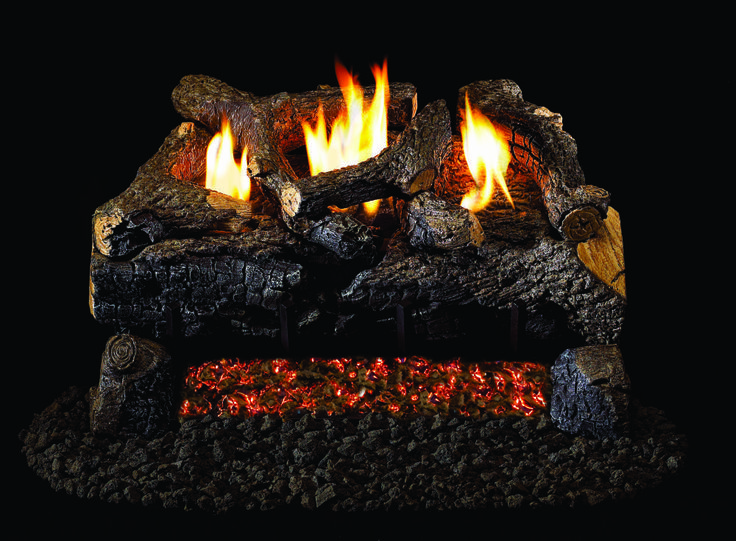 56 best Gas Log Sets images on Pinterest | Hearth, Fireplaces and ...