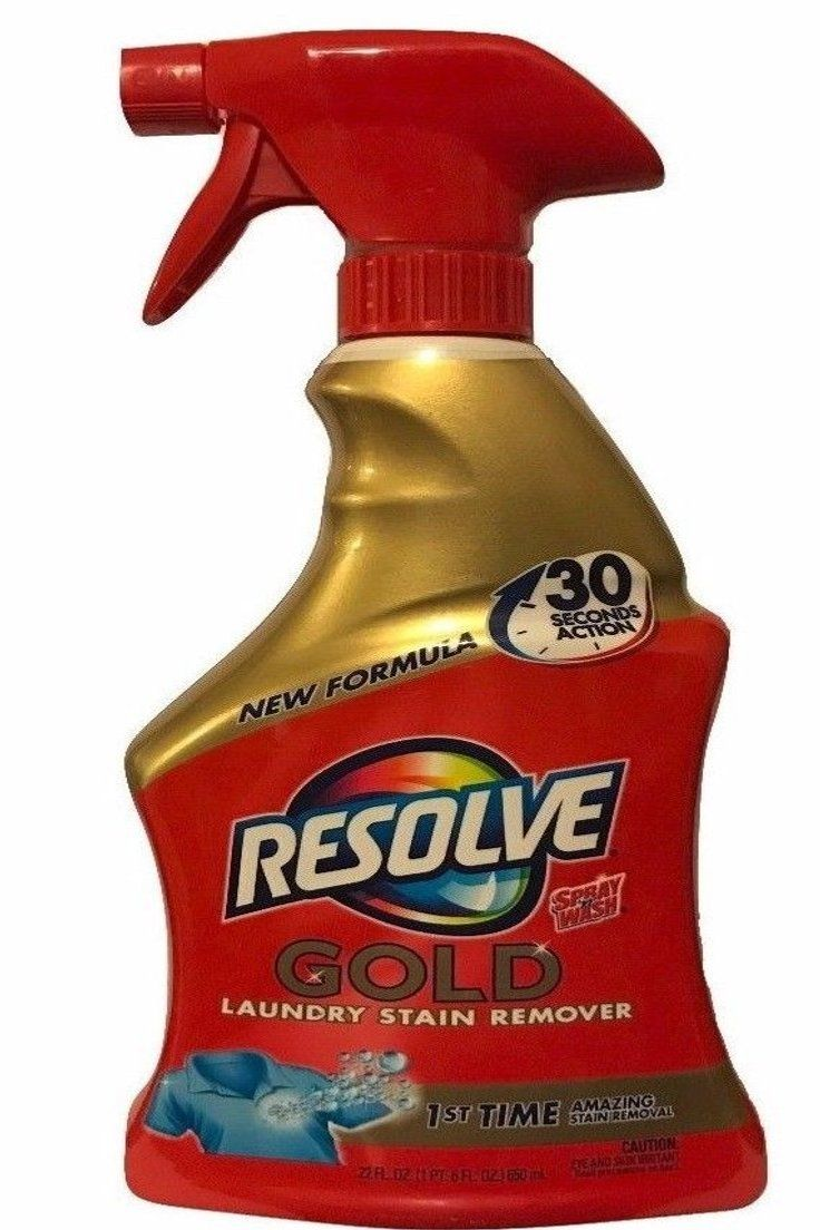 57 00 Resolve Gold Pre Treat Laundry Stain Remover Spray N Wash