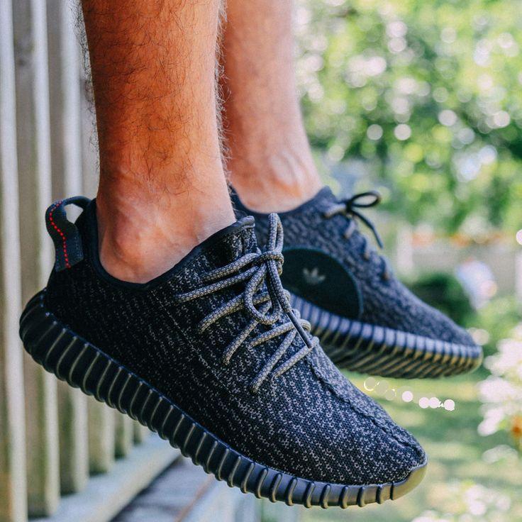 Yeezy Adidas Boost Low Black