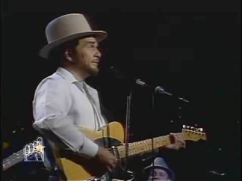Merle Haggard - Are the Good Times Really Over For Good?  Song of the year in 1983 at the American Country Music Awards. My dad's favorite.