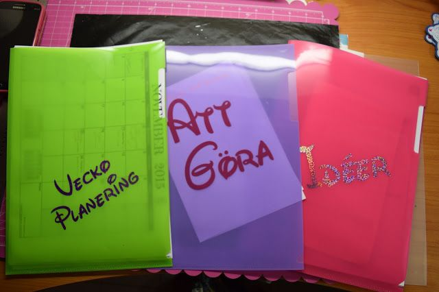 Organize your Plastic Pocket Folders - Ankis Creation