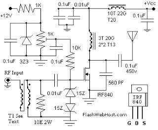 60W Linear Amplifier   DIY Electronics Projects