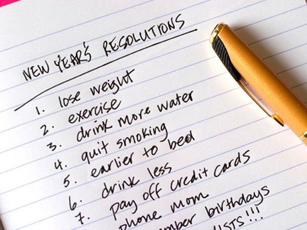 New Year's Resolutions Tips