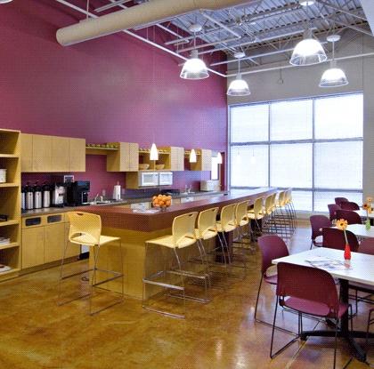 Fun breakroom  Progressive Architecture  Office  Break