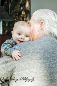 Grandparent photography