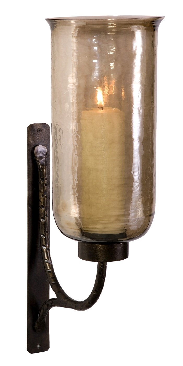Large Wall Sconces With Candles : Large Luster Glass Candle Wall Sconce Faves - Lanterns Pinterest