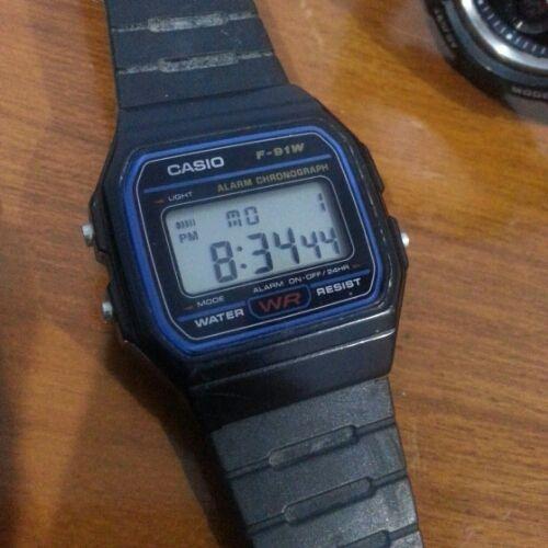Casio F-91W, Terrorist Watch