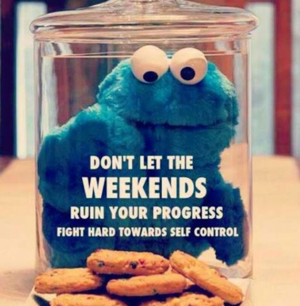 cookie monsters #JuicePlus control