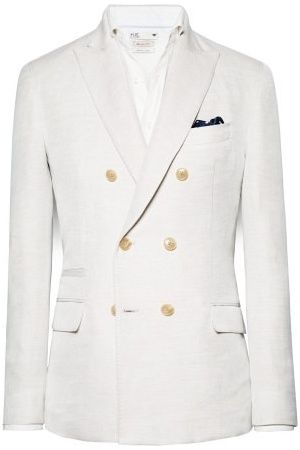 Heren blazers - H.E. by MANGO Informele double-breasted blazer