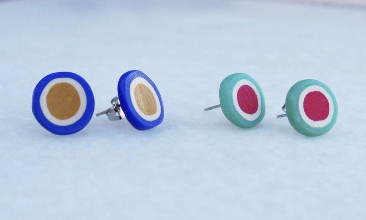 earrings-polymeric clay https://www.facebook.com/planww/