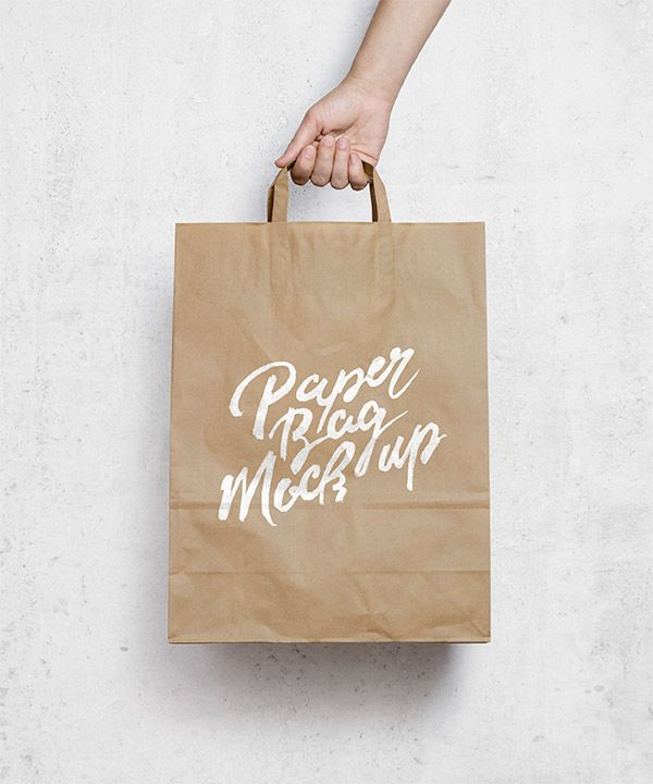 Brown Paper Bag Mockup und viele andere mock up freebies hier!