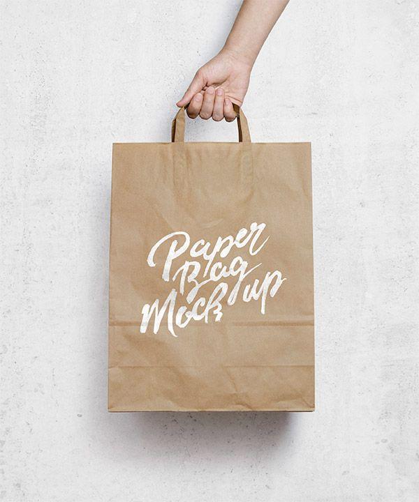 Brown Paper Bag Mockup und viele andere mock up freebies hier!