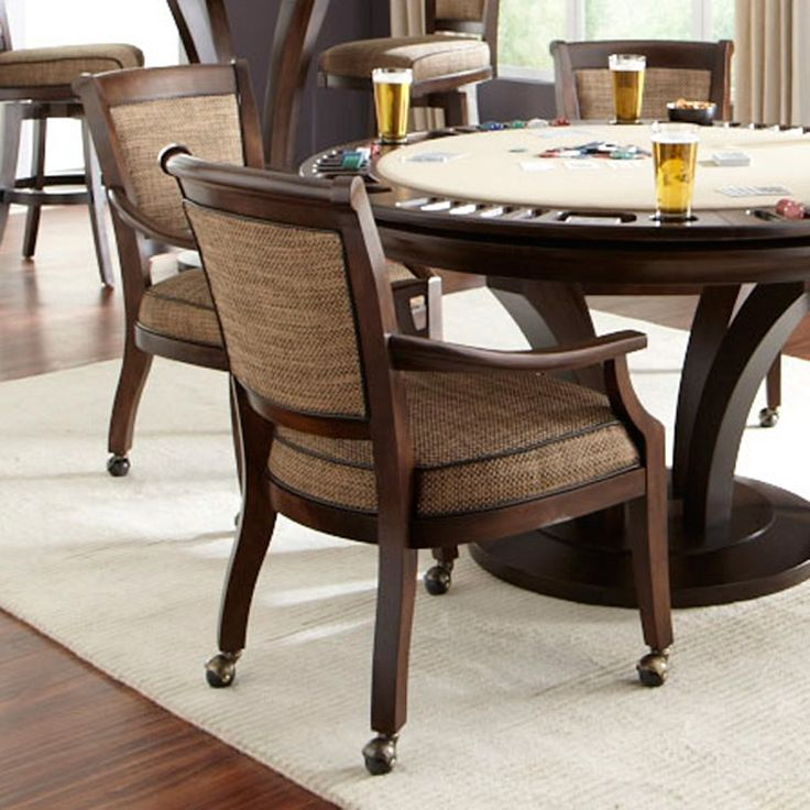 dining room table and chairs with wheels. leather dining room chairs with casters table and wheels e